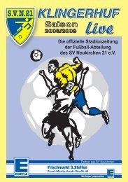 2. 3. - SV Neukirchen - SV Neukirchen 21 e.V.