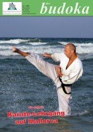 Karate-Lehrgang auf Mallorca - Dachverband für Budotechniken ...