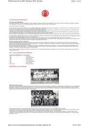 Seite 1 von 3 Willkommen beim BSV Menden: BSV Menden 26.01 ...