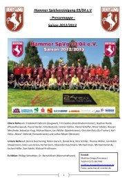 Hammer Spielvereinigung 03/04 e.V - Pressemappe - Saison 2012 ...
