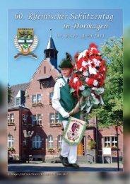 Rheinischer Schützentag 2011, Festheft ... - Bezirk 06 Aachen