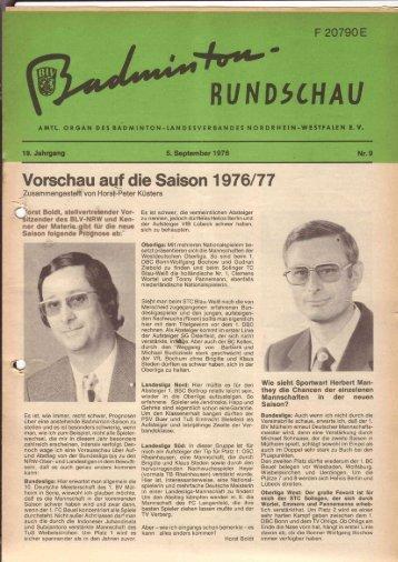 Nr. 9 September 1976 - (BLV-NRW) www
