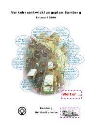 Verkehr - Stadtplanungsamt - Bamberg
