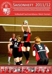 Saisonheft 2011/12 - SV Einheit Borna