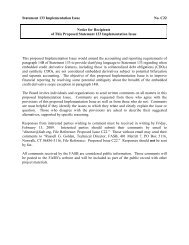 Statement 133 Implementation Issue No. C22 This proposed ... - FASB