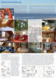 Nordseeinsel Spiekeroog - Ferienwohnungen Siebels