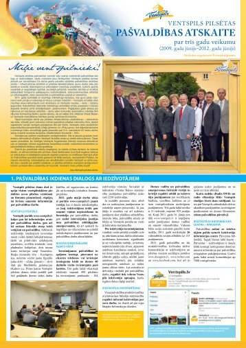 pašvaldības atskaite - Ventspils