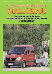 Beschaffungsdienst GaLaBau - Ausgabe Mai 2009