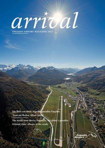 die Welt von oben: Segelflugparadies Engadin ... - Airport Samedan
