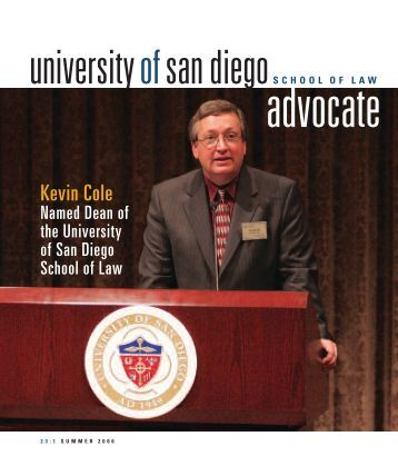 Kevin Cole - University of San Diego