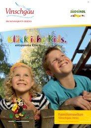 Glückliche Kids, Glückliche Kids, - Tourismusverein Latsch - Martell