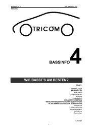 bassinfo4 wie basst's am besten? - Hifilab