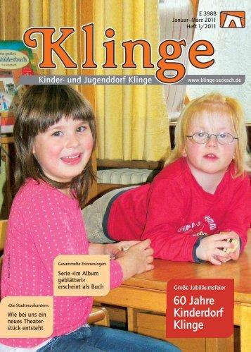 60 Jahre Kinderdorf Klinge - Kinder- und Jugenddorf Klinge, Seckach