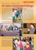 60 Jahre Kinderdorf Klinge - Kinder- und Jugenddorf Klinge, Seckach - Page 7