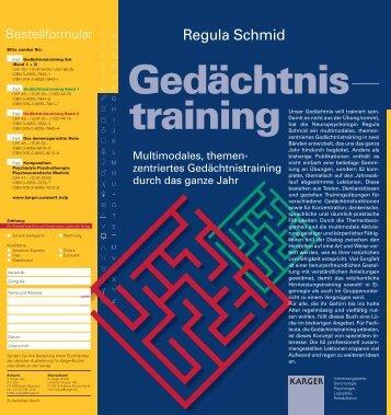 Regula Schmid - Karger