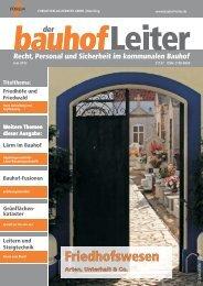 Ausgabe Juni 2012 - Bauhof Leiter