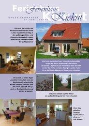 Ferienhaus Kiek ut - Ferienvermietung-online.de