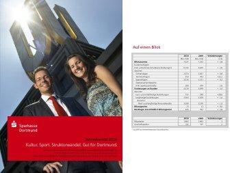 Jahresbericht 2010 - Sparkasse Dortmund