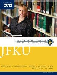 2012 - John F. Kennedy University