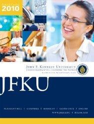 Business Administration - John F. Kennedy University