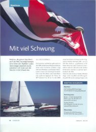 Bénéteau Bericht aus dem marina.ch - Bucher + Schmid Bootswerft ...
