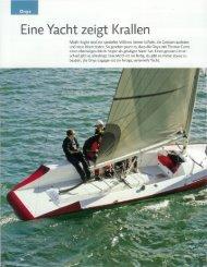 Onyx Bericht aus dem marina.ch - Bucher + Schmid Bootswerft AG