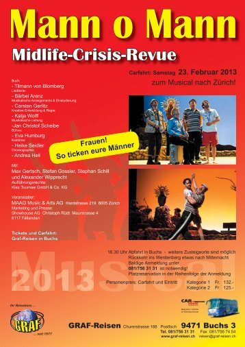Midlife-Crisis-Revue - Graf-Reisen