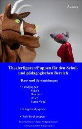 Theaterfiguren/Puppen für den Schul- und pädagogischen Bereich