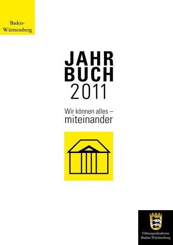 JAHR BUCH - Führungsakademie Baden-Württemberg - BW21