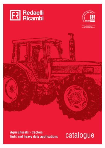 Download tractors catalogue (Only pdf) - Redaelli Ricambi srl