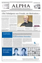 w/m - E-Paper Anmeldung - Tages-Anzeiger