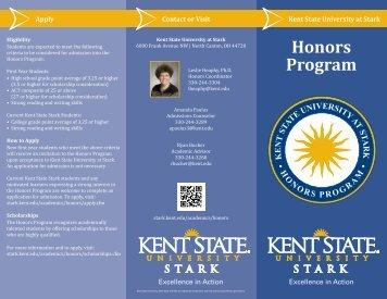 Honors Program - Kent State University at Stark