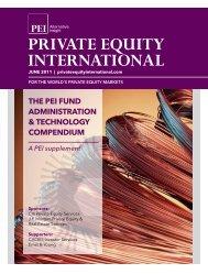 the pei fund administration & technology compendium A ... - PEI Media