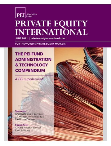 the pei fund administration & technology compendium A ... - PEI Media