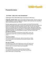 Presseinformation - Paul Parey Zeitschriftenverlag