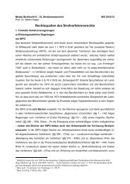 Rechtsquellen des Strafprozessrechts - Prof. Dr. Martin Heger