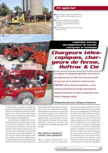 geurs de ferme, Hoftrac & Cie - agripub.ch