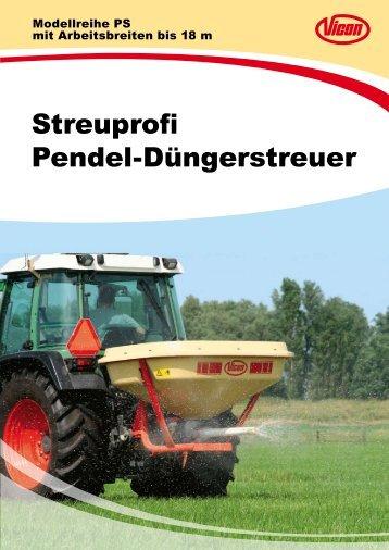 Streuprofi Pendel-Düngerstreuer - Spezielle-Agrar-Systeme GmbH