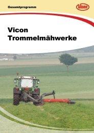 Vicon Trommelmähwerke - Spezielle-Agrar-Systeme GmbH