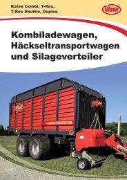 Überladewagen Vicon T-Rex Shuttle - Spezielle-Agrar-Systeme GmbH