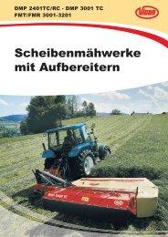 Markenzeichen aller Vicon-Mähwerke - Spezielle-Agrar-Systeme ...