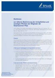 Richtlinien Notarkammer Pfalz - Bundesnotarkammer