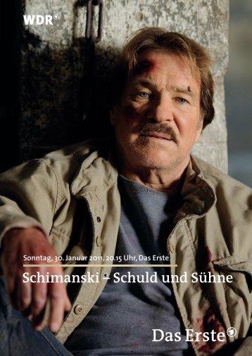 Schimanski – Schuld und Sühne - WDR.de