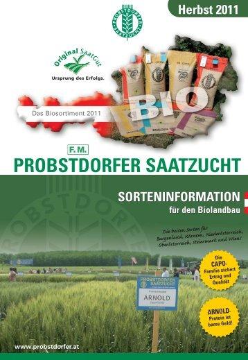 CAPO - Probstdorfer Saatzucht