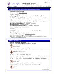 Fişa cu date de securitate - DR-Software