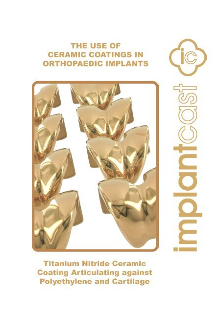 Titanium Nitride Ceramic Coating Articulating     - Marcel