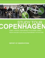 Report of Copenhagen Study Tour