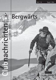 Bergwärts 05 - 2012 - SAC Sektion Bodan