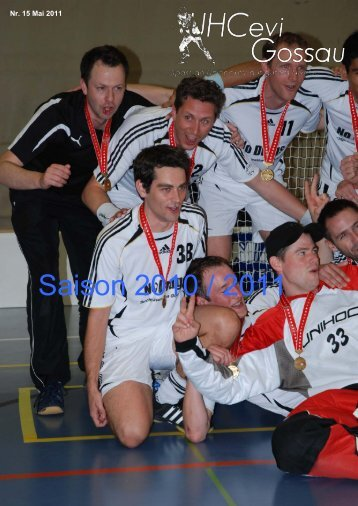 Saison 2010 / 2011 - UHCevi Gossau