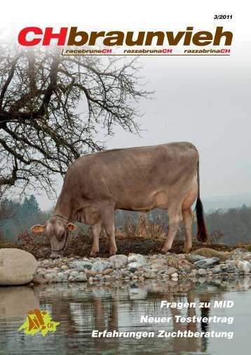 CHbraunvieh 03-2011 - Schweizer Braunviehzuchtverband